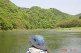 新緑の那珂川